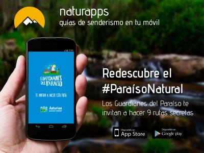 Redescubre el #ParaísoNatural con Naturapps: los #GuardianesdelParaíso te invitan a hacer 9 rutas secretas