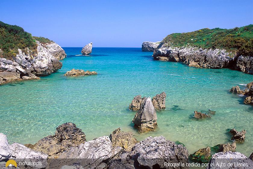 Playa de Buelna (fotografía cedida por el Ayto. de Llanes)