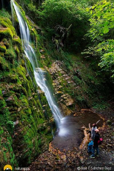 Cascada de Xurbeo, un secreto escondido en el Alto Aller