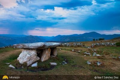 El dolmen de Merillés