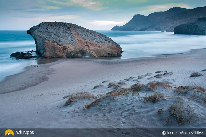 Playa de Mónsul (© J.F. Sánchez Díaz)