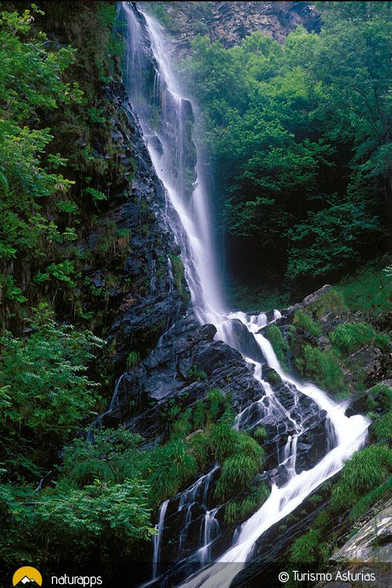 Seimeira de Murias, una cascada en tierra de ferreiros